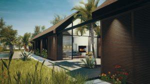 patio de la maison