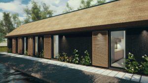 matérialité de façade
