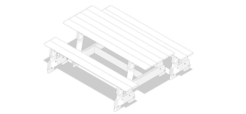 Table de jardin couverture