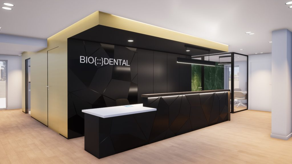 Projet cabinet dentaire Biodental